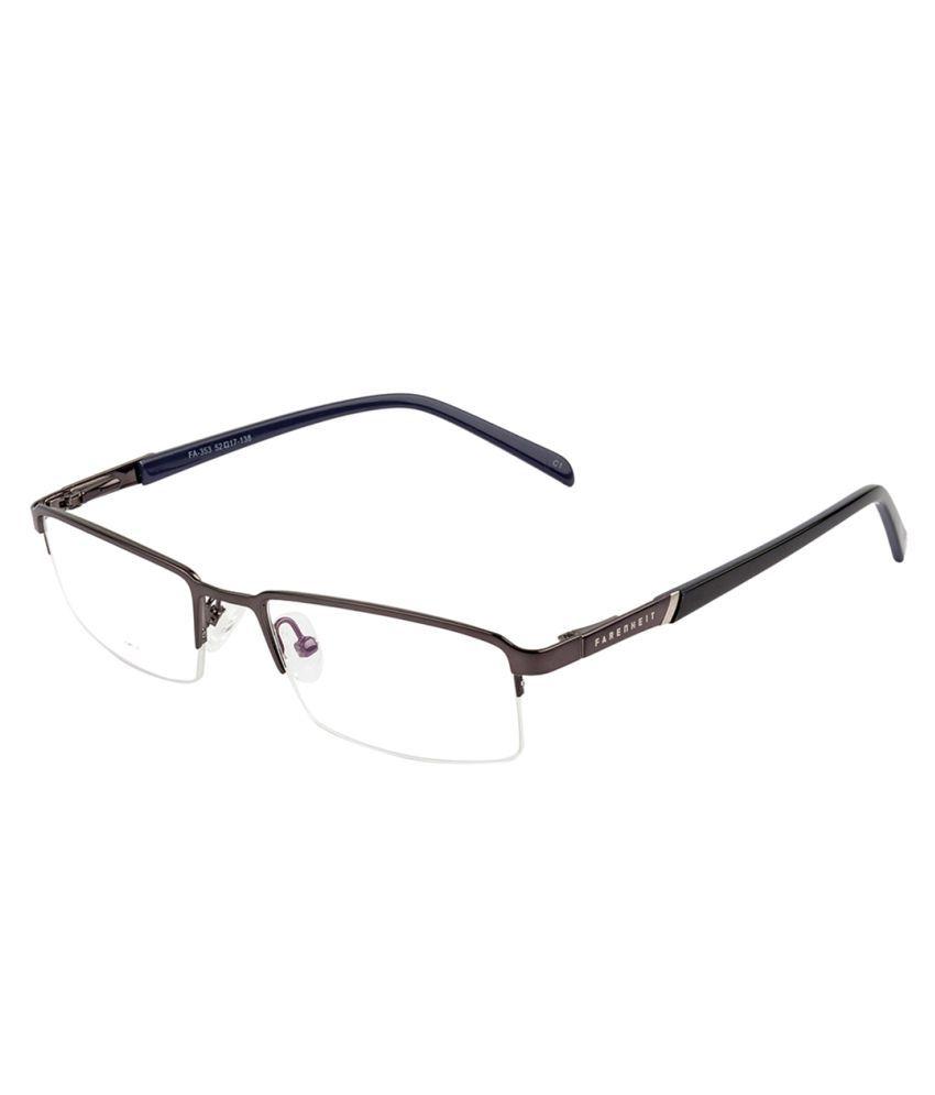 farenheit rectangle spectacle frame fa e 353 c1 buy farenheit