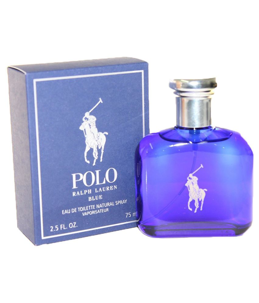 bc0f2d33e238 Ralph Lauren Polo Blue Men Perfume 75 ml  Buy Online at Best Prices in  India - Snapdeal