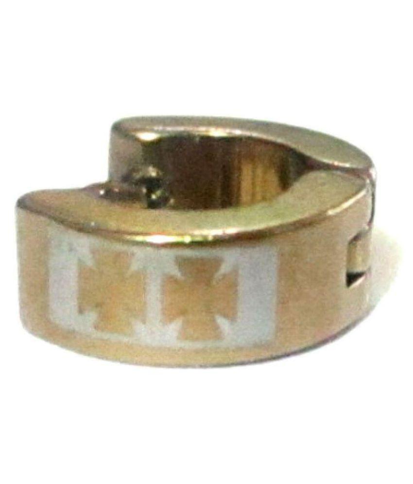 Bharathi Golden Stainless Steel Earring