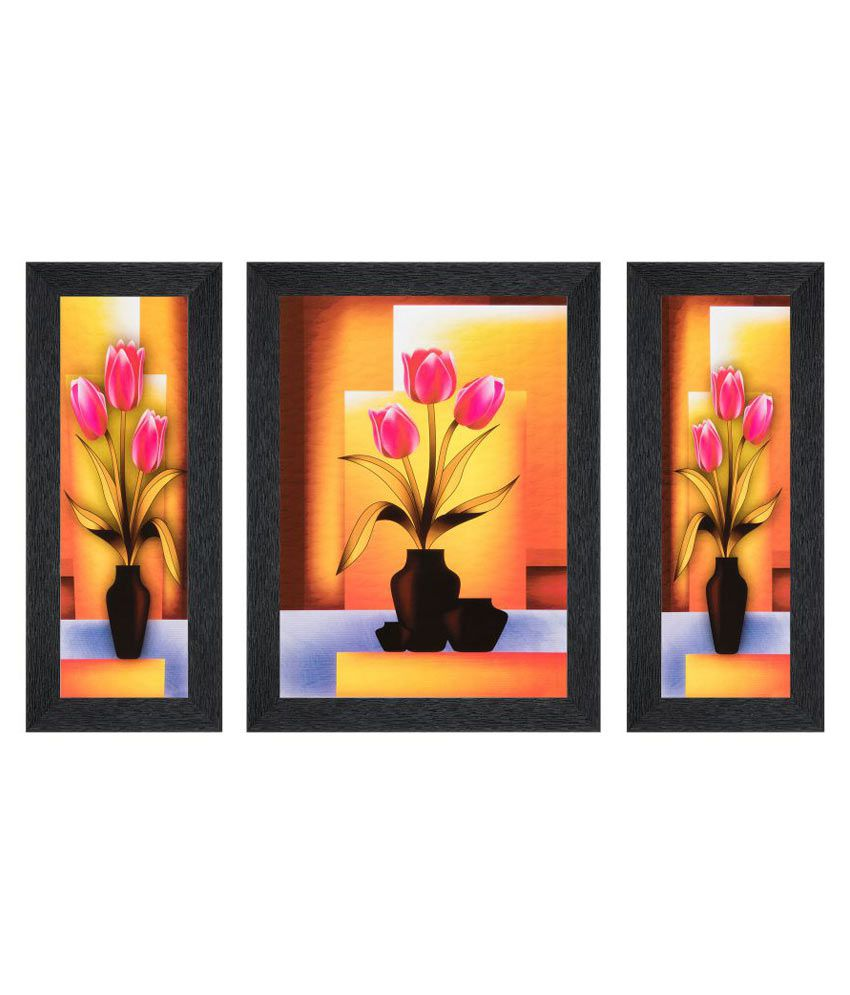 JAF MDF Painting With Frame Set of 3