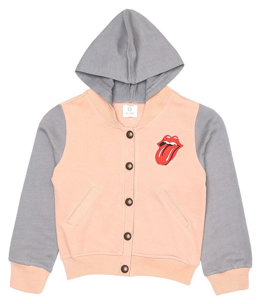 Orgaknit  Peach Cotton Jacket