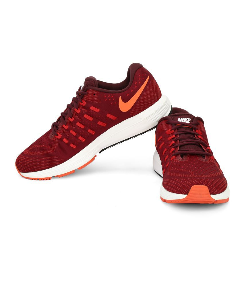 info for 65667 3db2c Nike NIKE AIR ZOOM VOMERO 11 Maroon Running Shoes