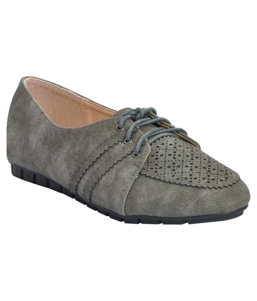 Shuberry Gray Casual Shoes