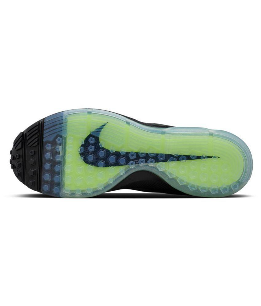 on sale d7ed0 b7e52 ... discount nike zoom allout flyknit black running shoes 6d4a9 be5da