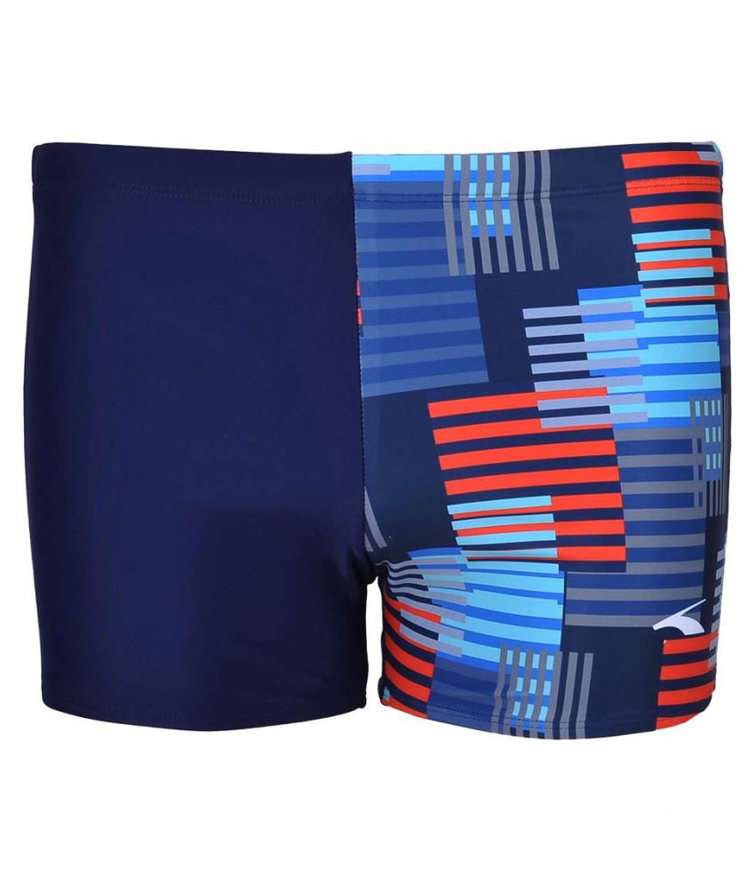Champ Blend Men Swimwear Trunks with Sublimation Print/ Swimming Costume