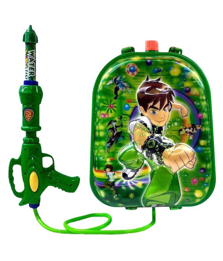Ben 10 Toys : Darling toys ben holi water gun pichkari with tank