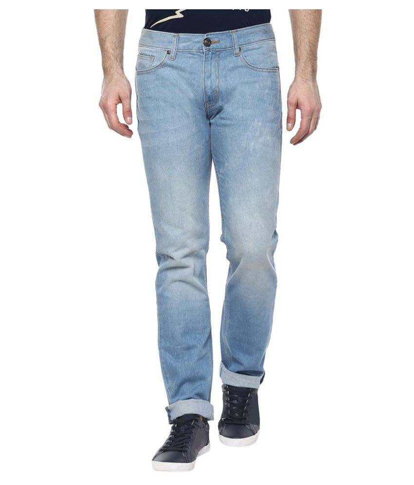 CR8 Blue Relaxed Jeans