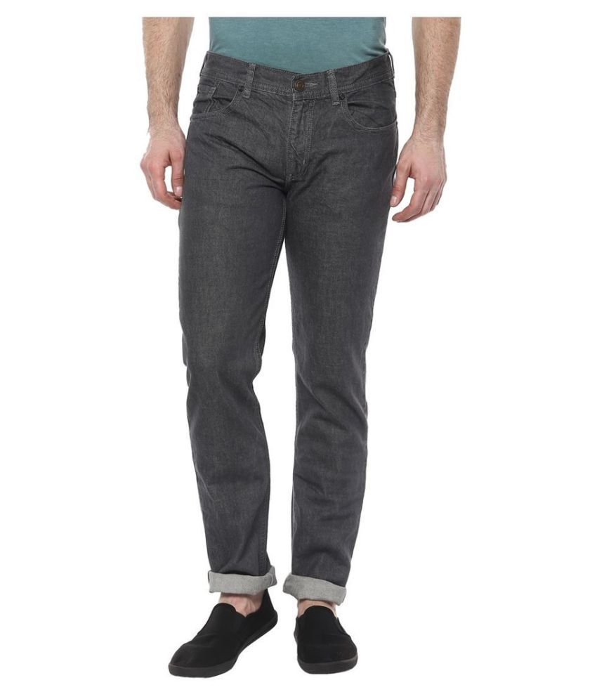 CR8 Grey Relaxed Jeans