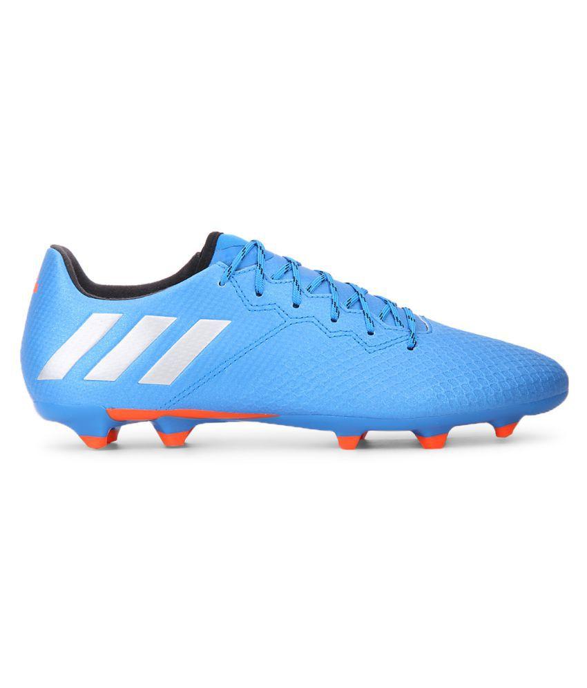 cheap for discount 887ac 29779 ... Adidas MESSI 16.3 FG Blue Football Shoes ...