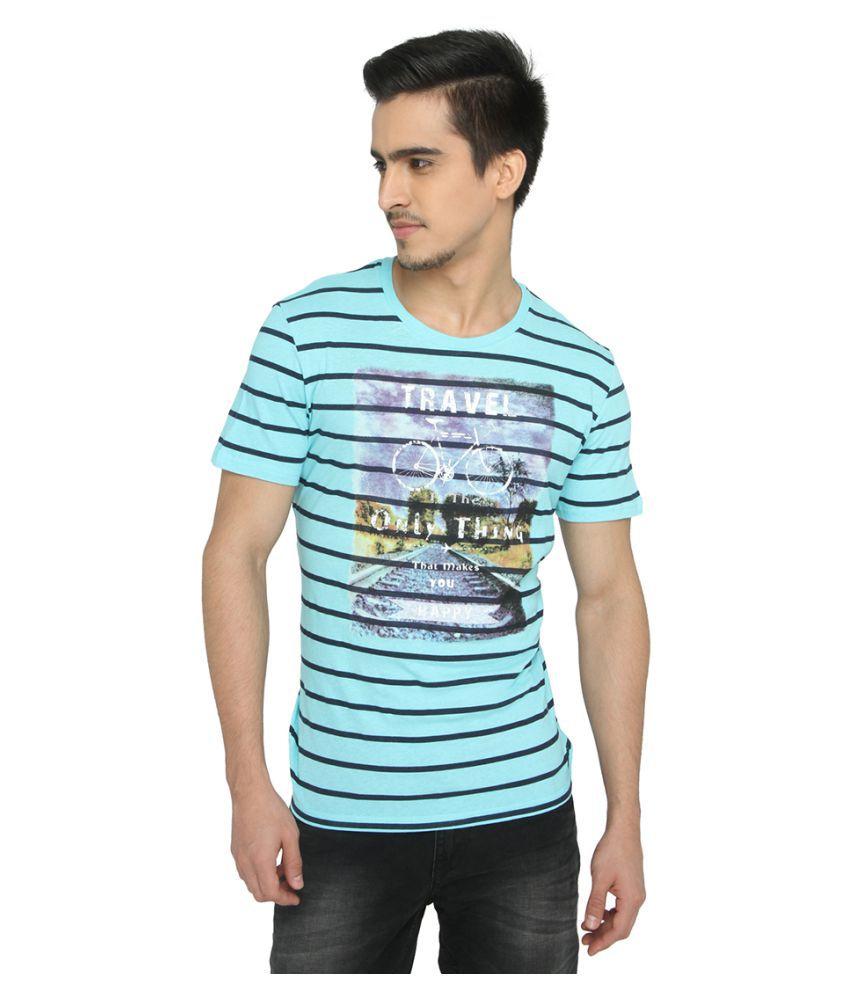 JadeBlue Blue Round T-Shirt