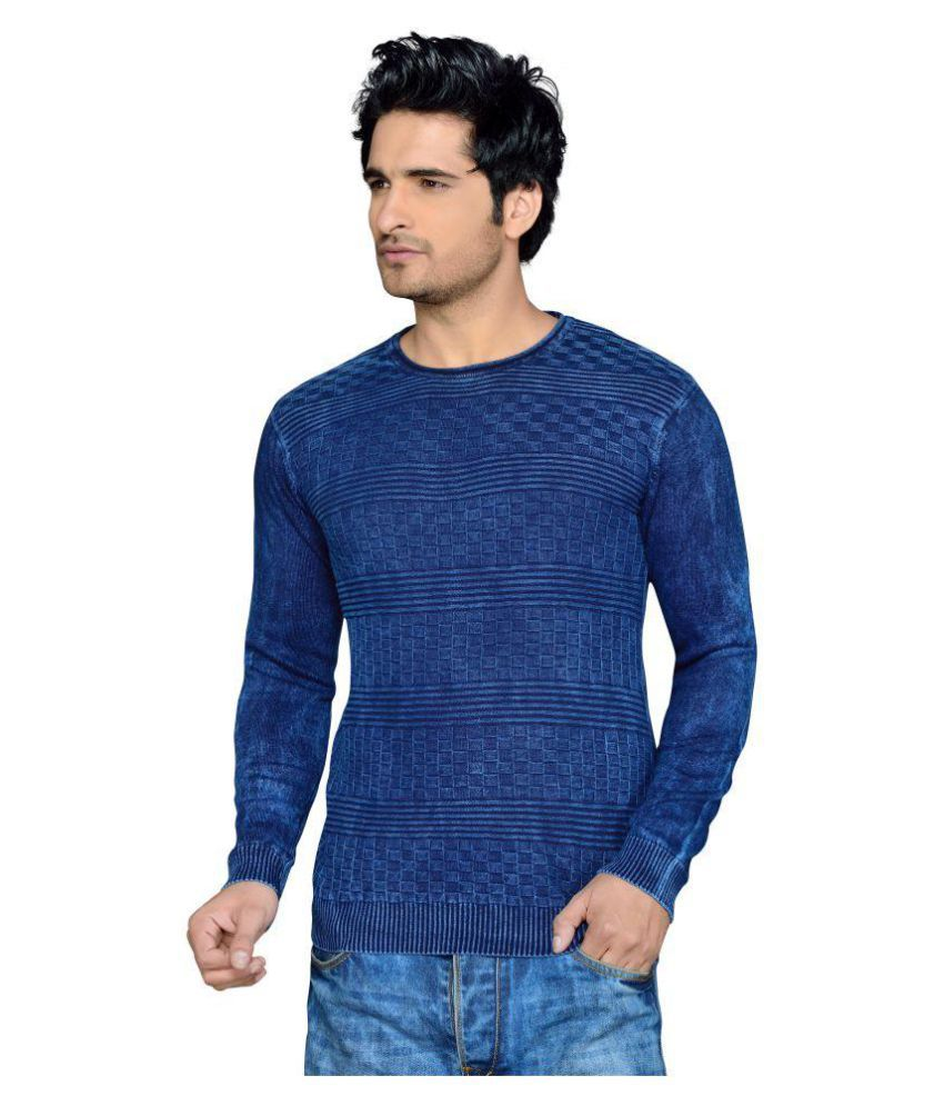 Rejoice Blue Round T-Shirt