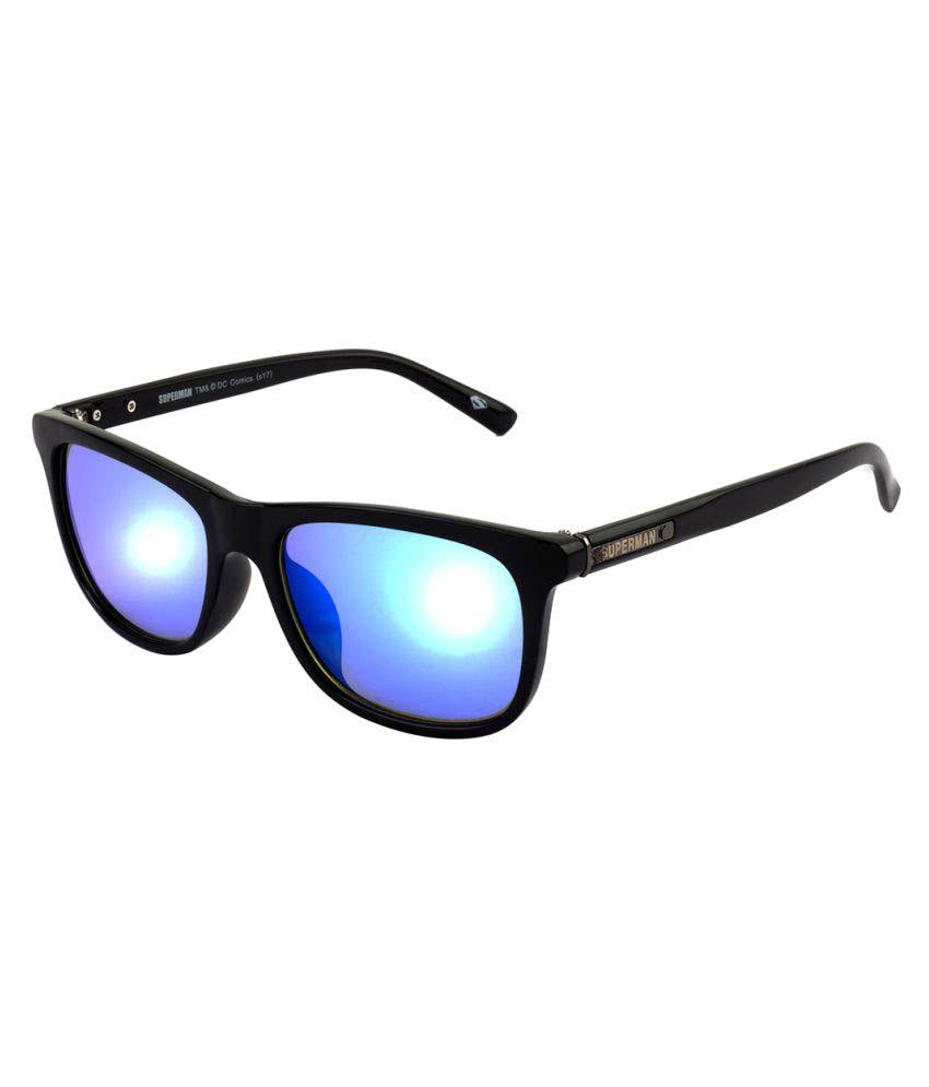 5fa96b06e8 Superman Blue Wayfarer Sunglasses ( SM-092-C4 ) - Buy Superman Blue  Wayfarer Sunglasses ( SM-092-C4 ) Online at Low Price - Snapdeal