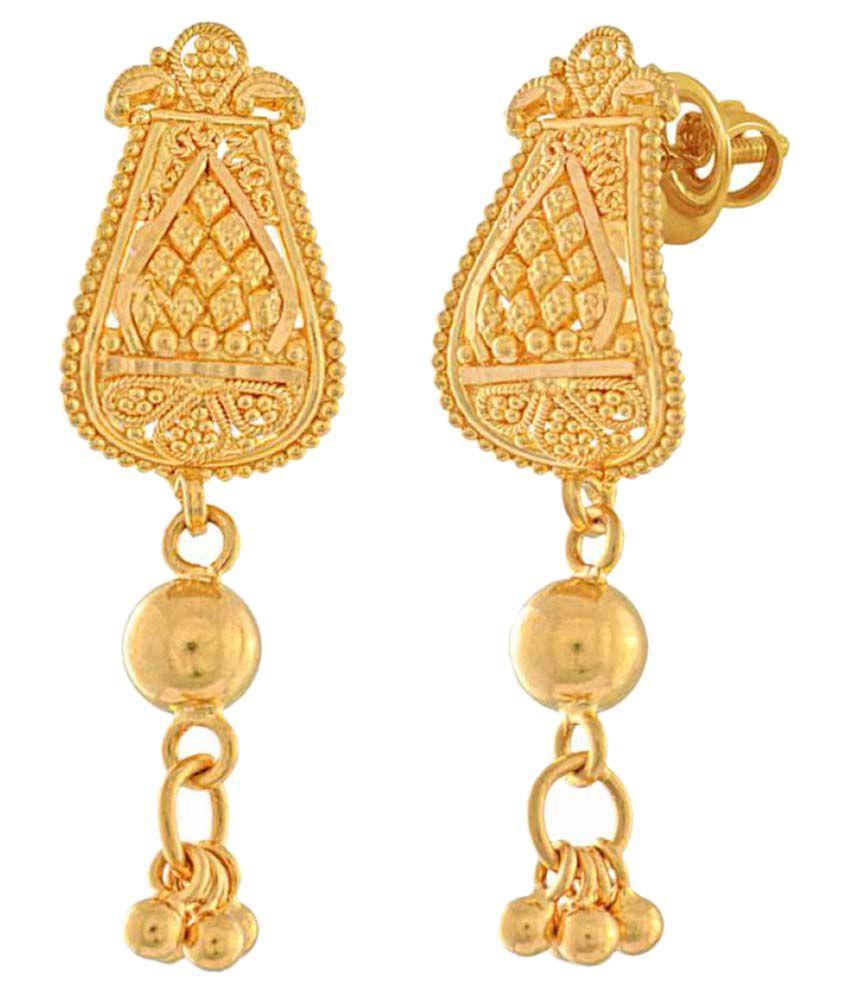 Whp 22k BIS Hallmarked Gold Hangings