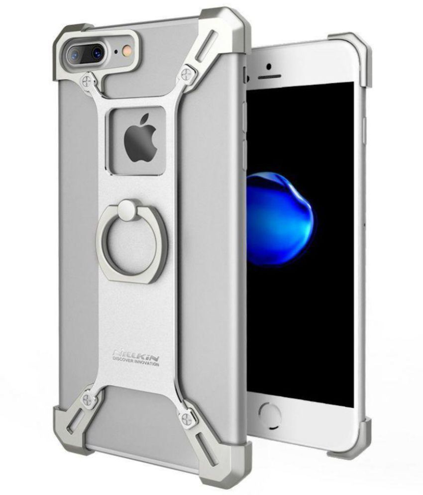 official photos a169a 6251d Apple iPhone 7 Plus Cases with Stands Kakooze - Silver