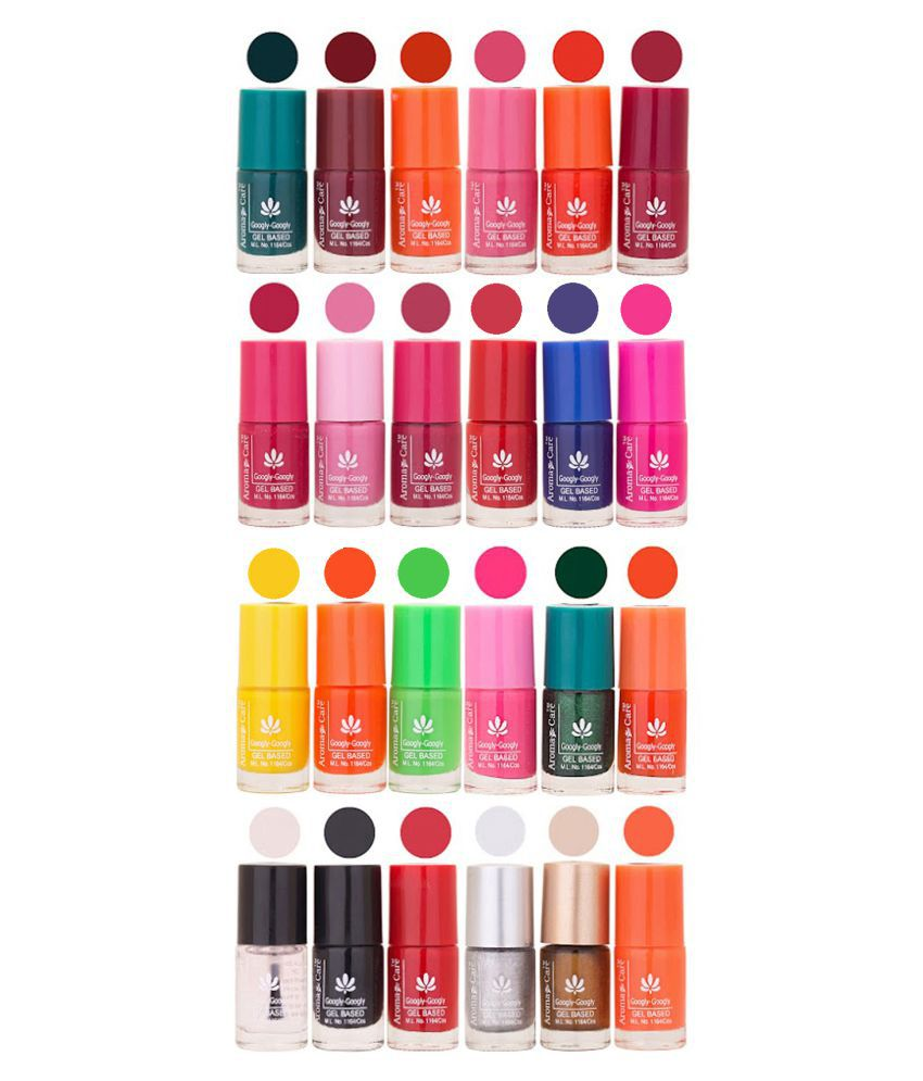 Aroma Care Nail Polish Multicolor Matte 144 ml