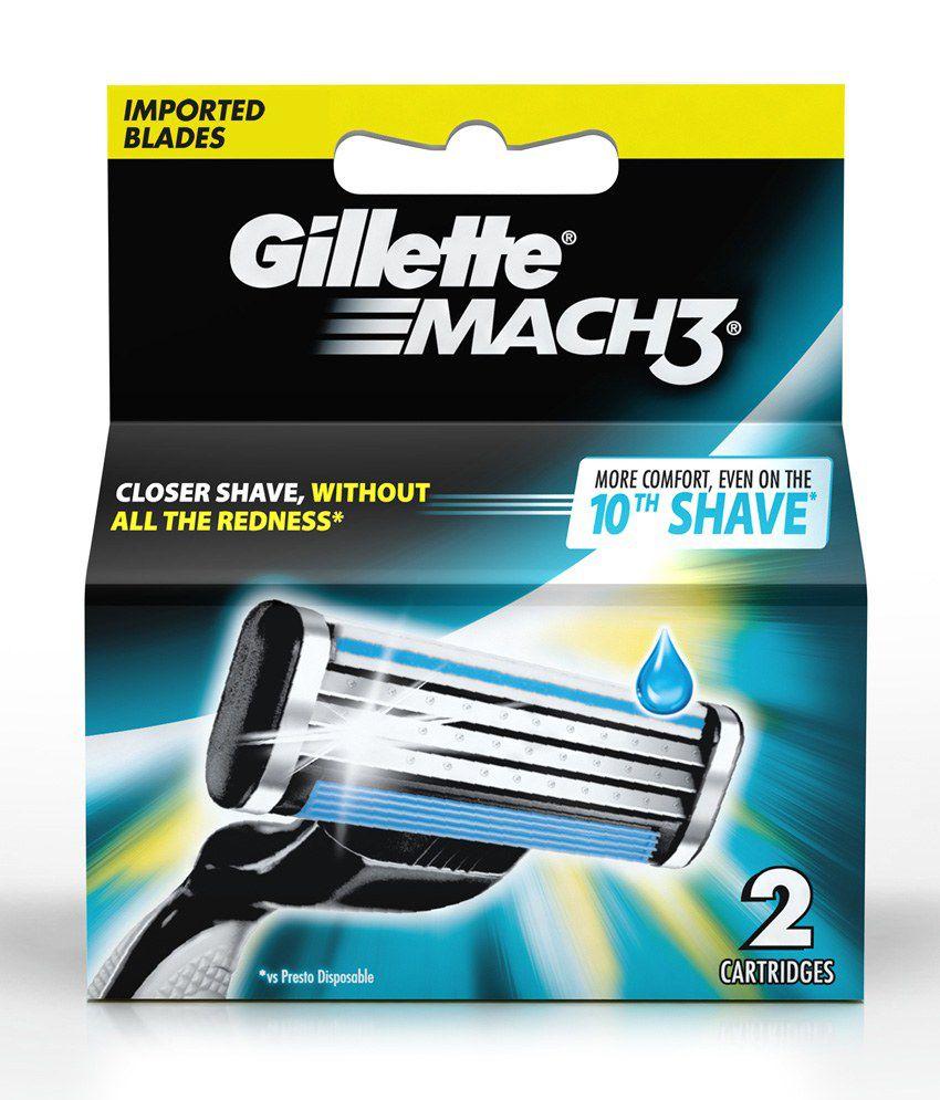 Gillette Mach-3 2 Cartridges: Buy Gillette Mach-3 2 ...