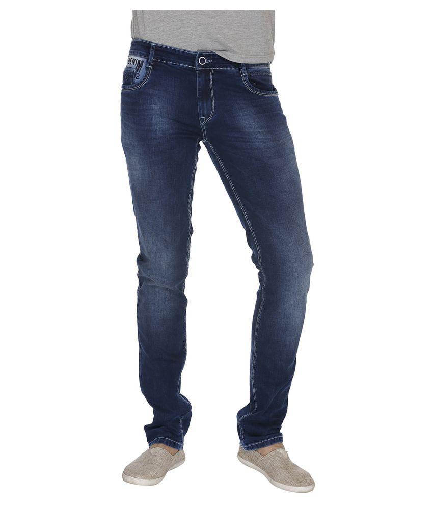 Fast n Fashion Blue Slim Jeans