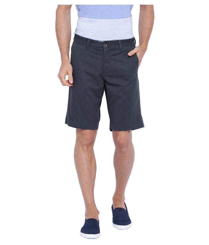 Showoff Navy Shorts