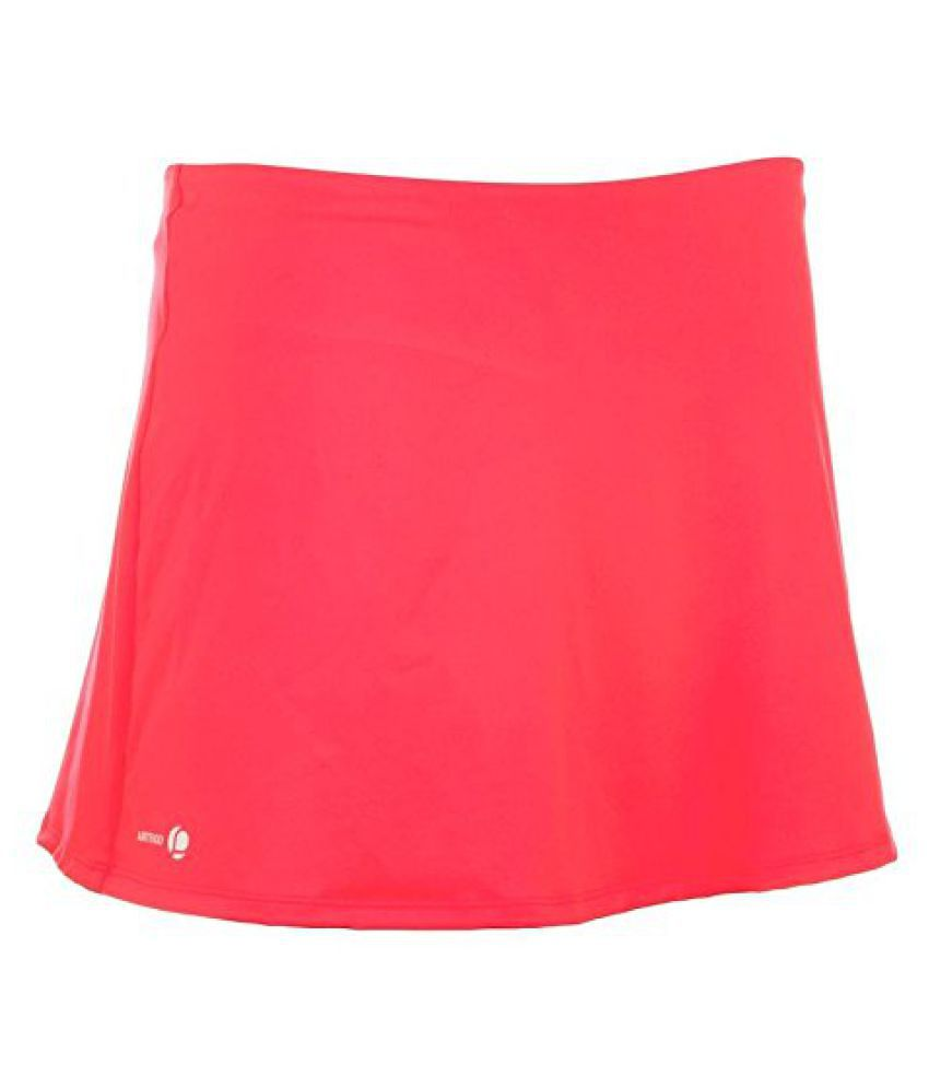 ARTENGO ESSENTIAL WOMEN'S TENNIS BADMINTON TABLE TENNIS PADEL SQUASH SKIRT - PINK