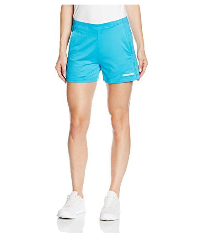 Babolat 41S1462-111 Match Core Short, Women's (Turquoise Blue)