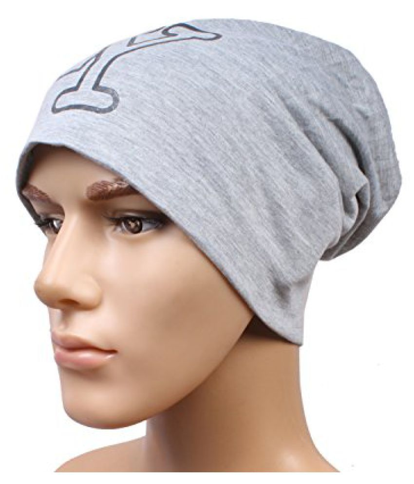College Grey Beanies Cap