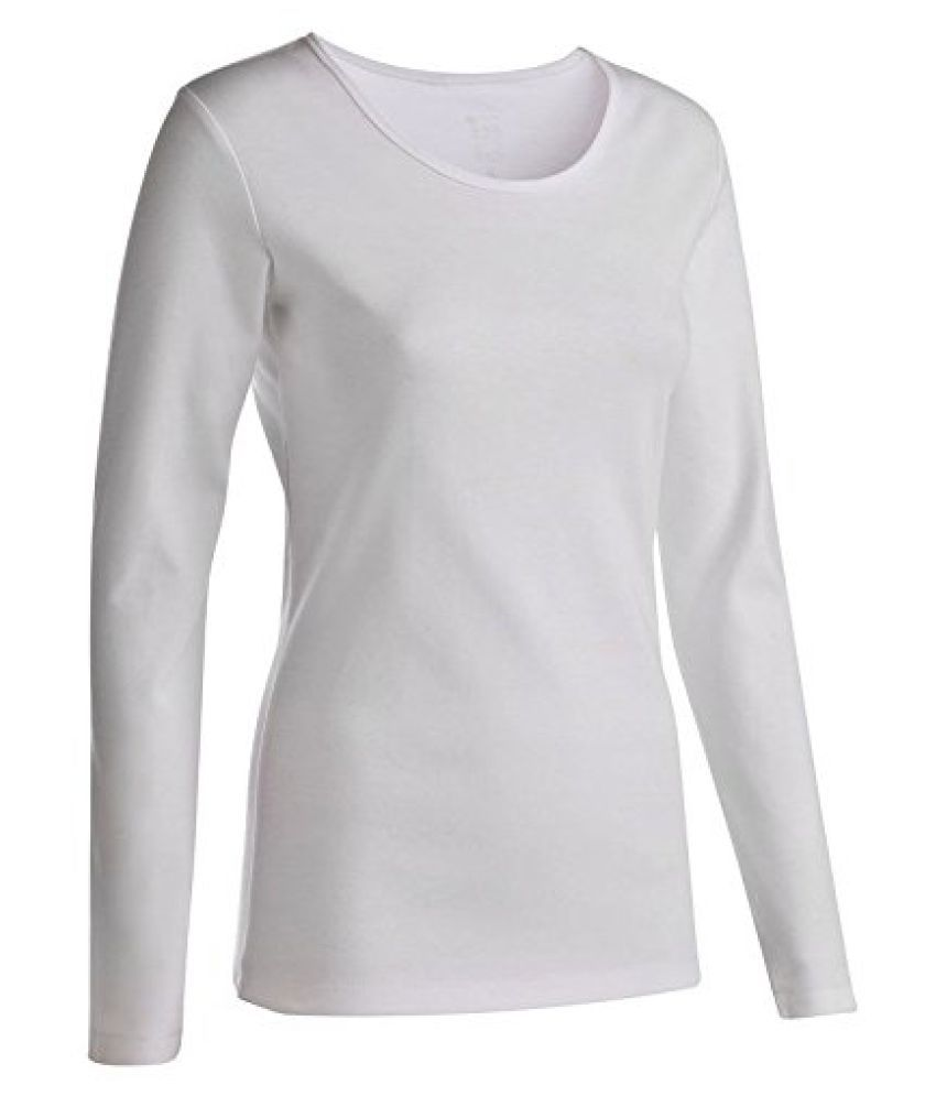 DOMYOS YOGA LONG-SLEEVED T-SHIRT