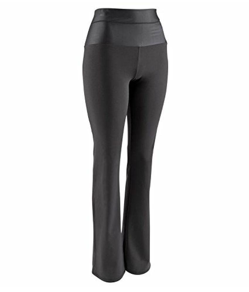 Domyos Flatstomach Leggings Black Size - L-XL
