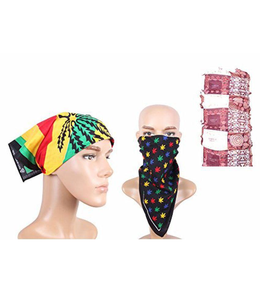 Fashion Biker Headwrap Combo Bandana