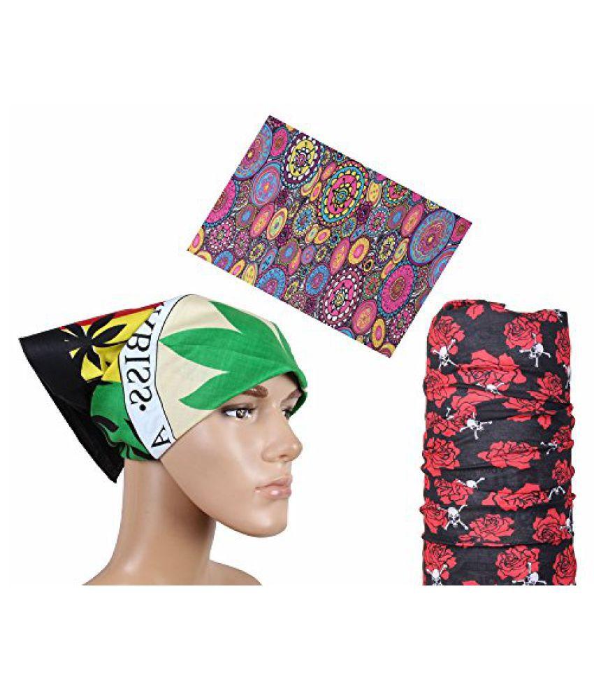 Fashion Stylish Headwrap Combo Bandana