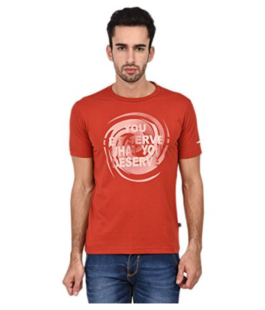 Head HCD-250 Round Neck Red/ White Size - M