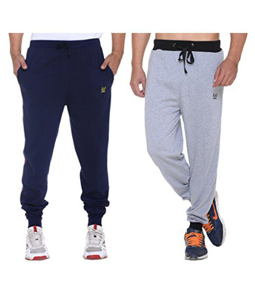 Mens Cotton Trackpants ( Pack Of 2)