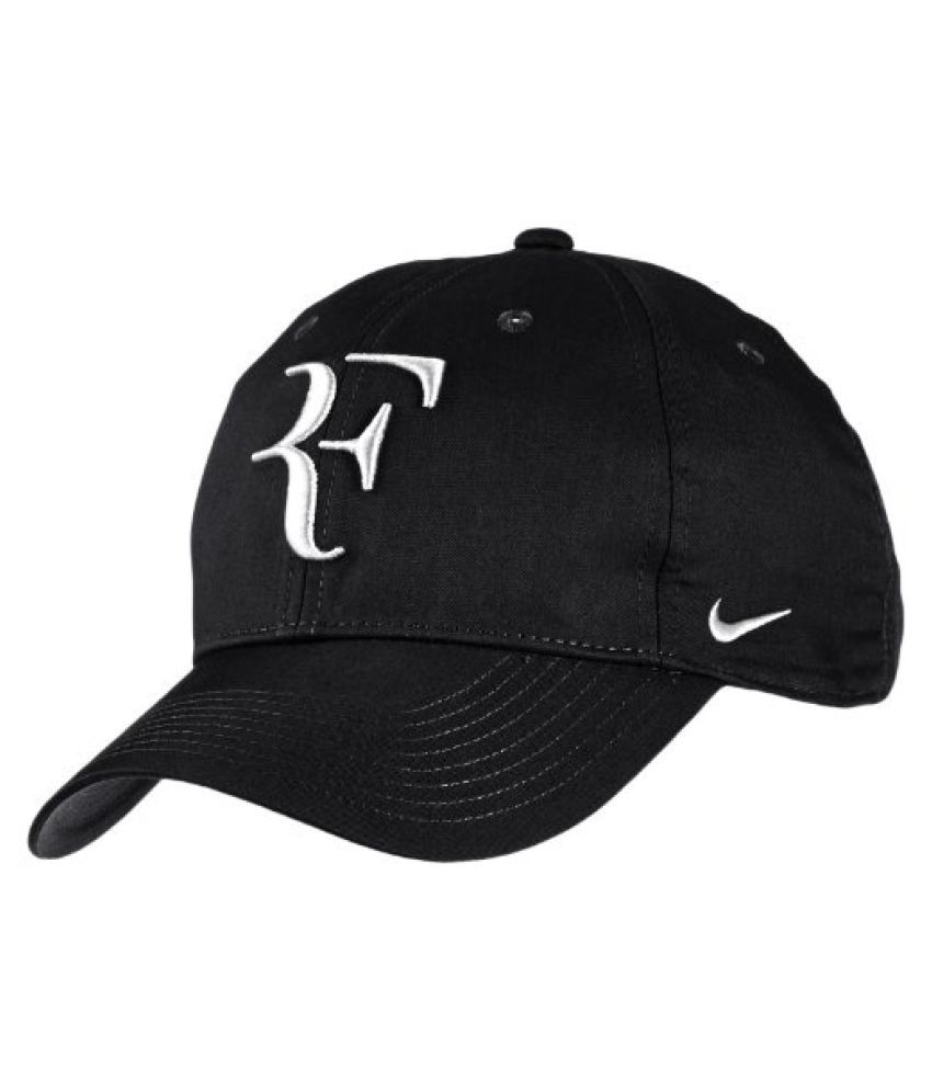 Nike Roger Federer Unisex Tennis Cap - Black/White