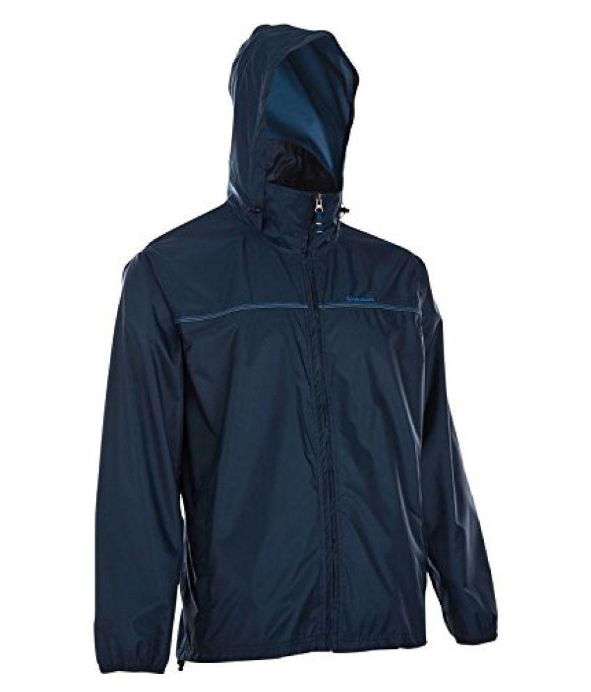 Quechua 8207363 Raincut Hiking Zip Jacket, Small (Blue)