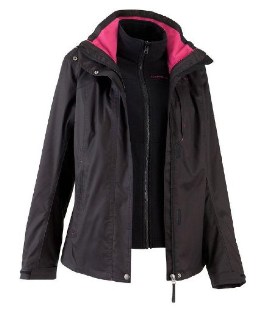 Quechua Arpenaz 3 In 1 L Jacket, Small (Black)