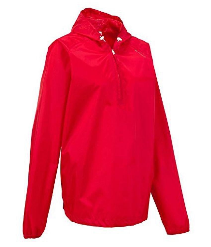 Quechua Raincut Jacket Red Size - M-L