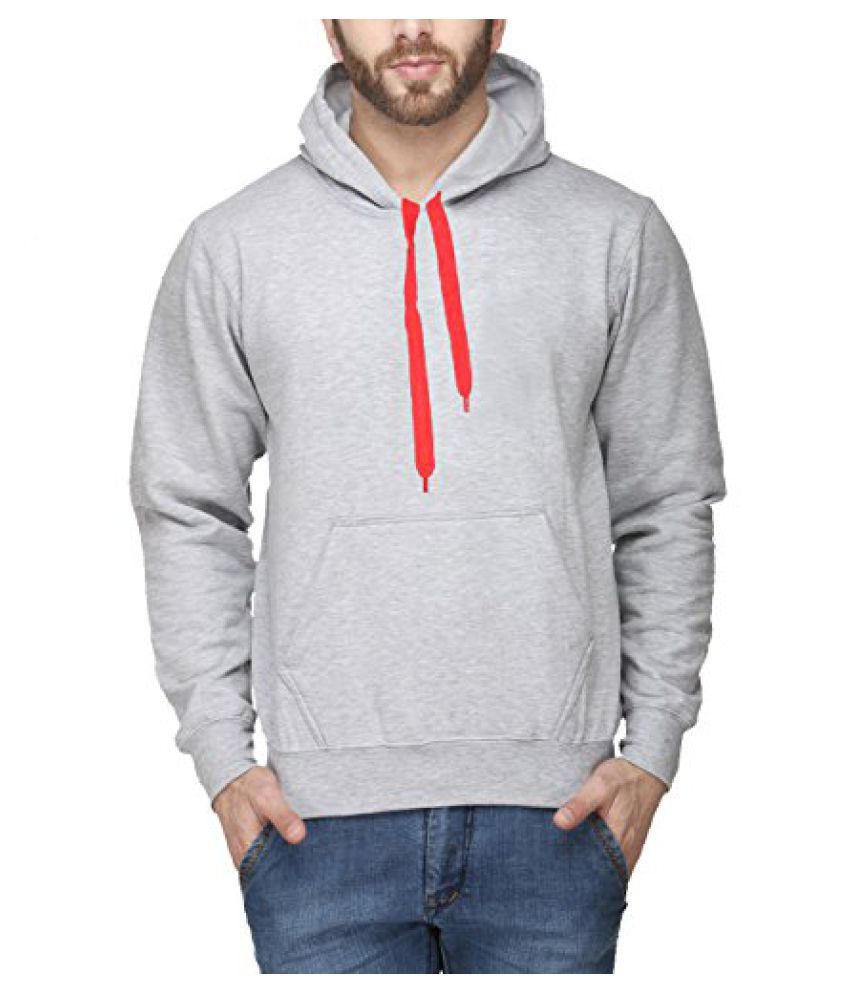 Scott Men's Grey Cotton Sweatshirt - ssl5-XL