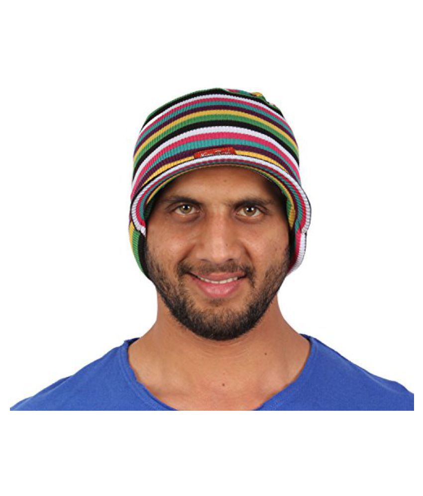 Sushito Fancy Multi Colour Beanies Cap