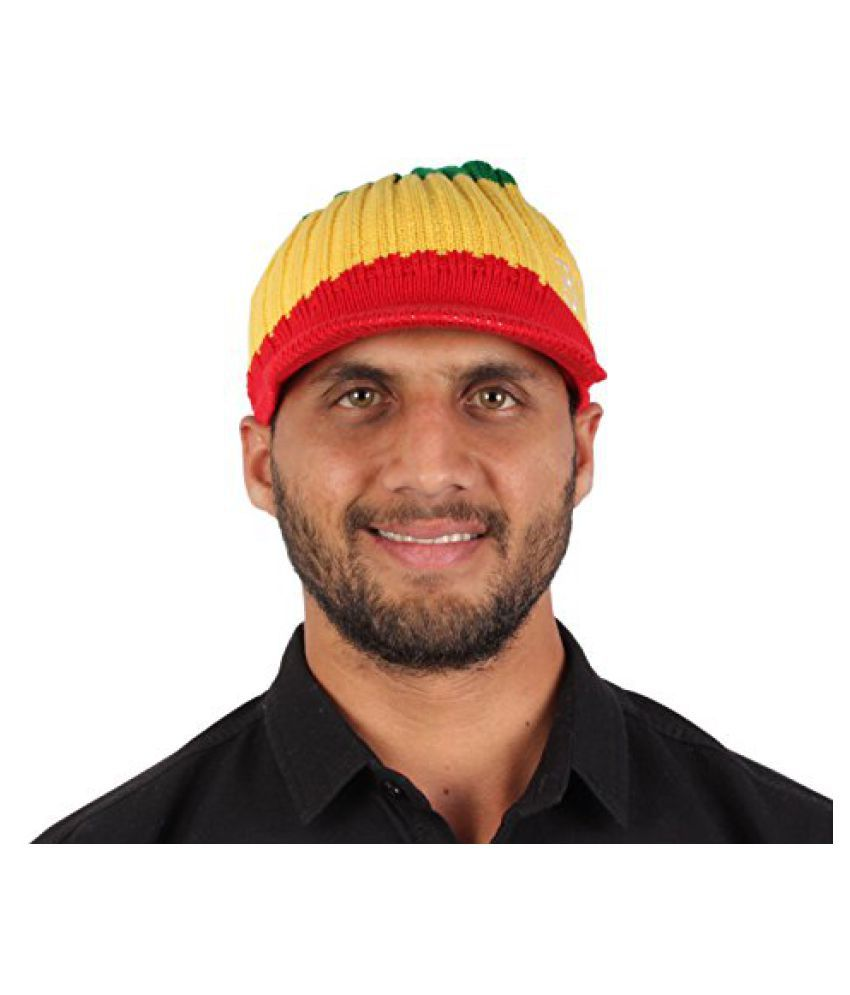 Sushito Stylish Multi Colour Woolen Cap