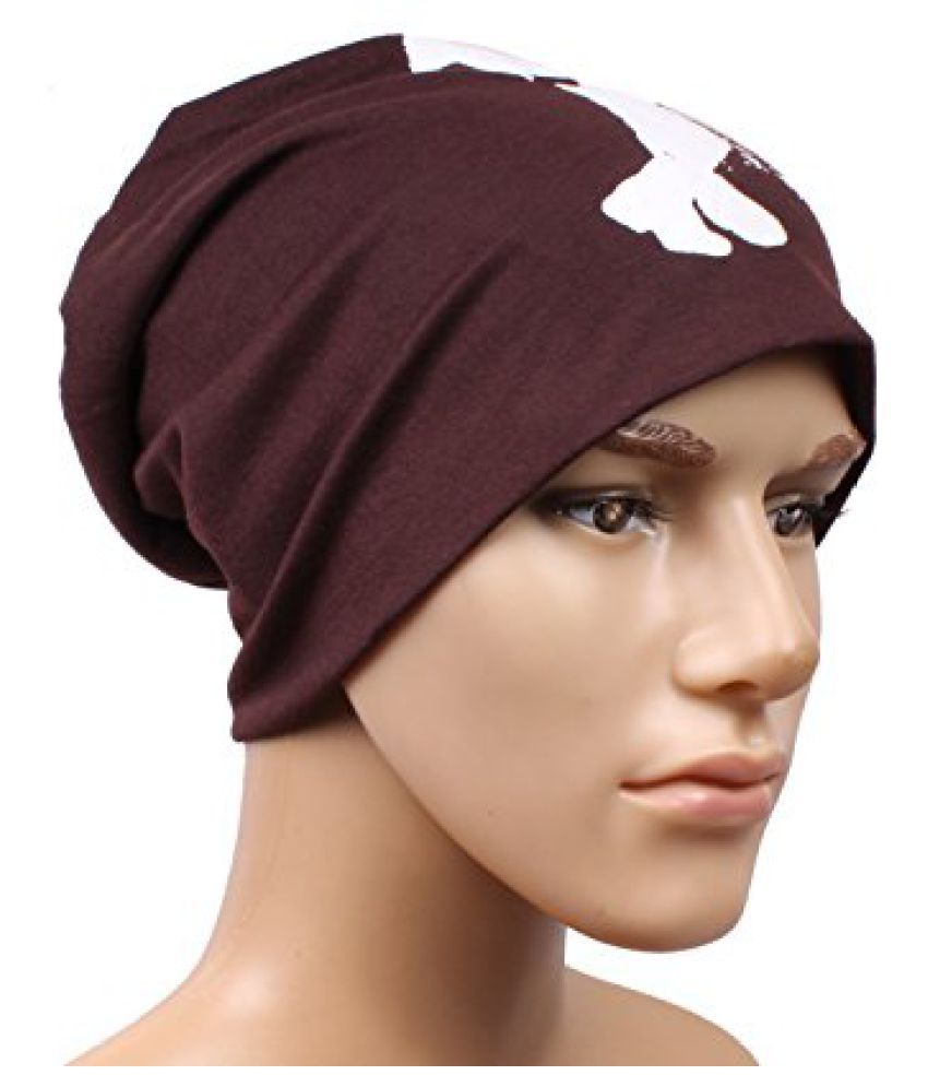 Trendy Brown Beanies Cap