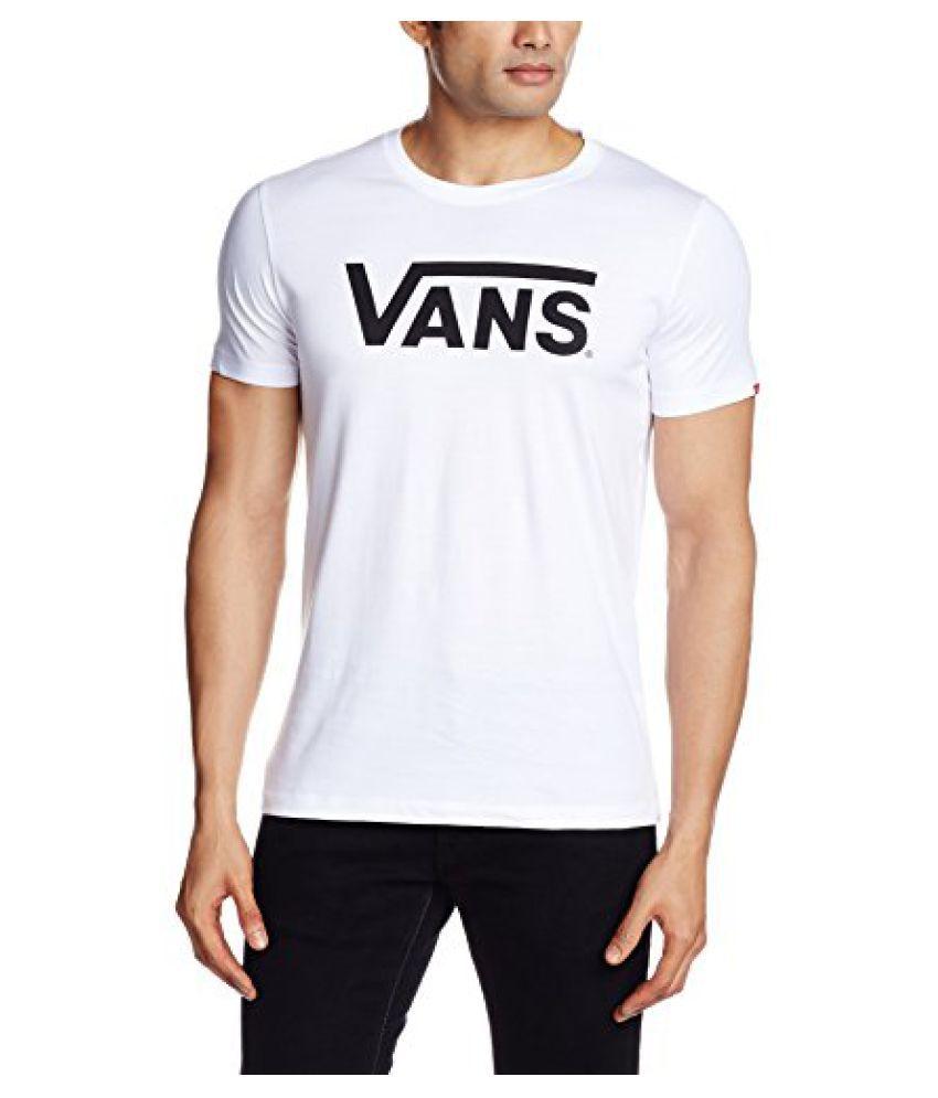 Vans Men's Round Neck Tees