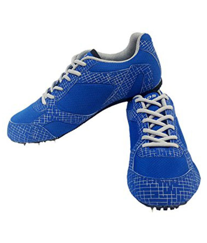 Vector X Sprint Running Shoes (Blue-Grey)