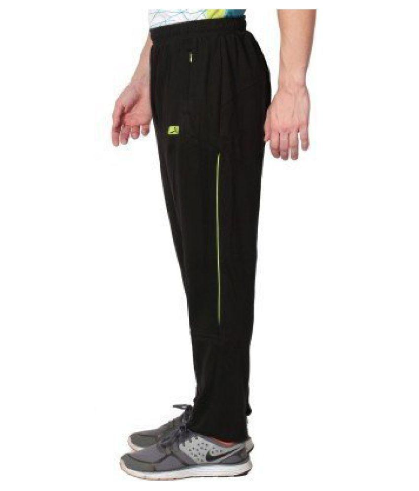 Vector X VL-1000-B Men's Black Track Pants (XL)