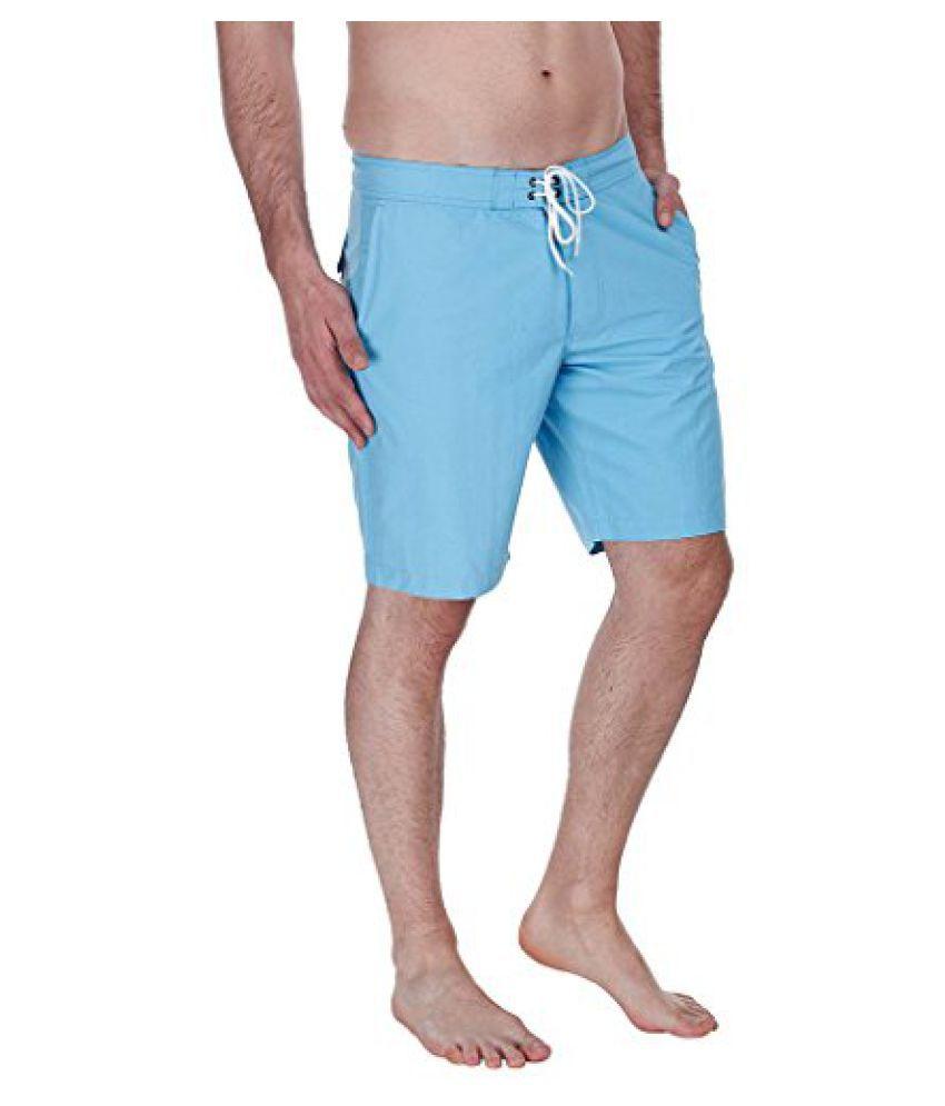 Zobello Men's Nylon Quick Dry Swim Boar Shorts/ Swimming Costume