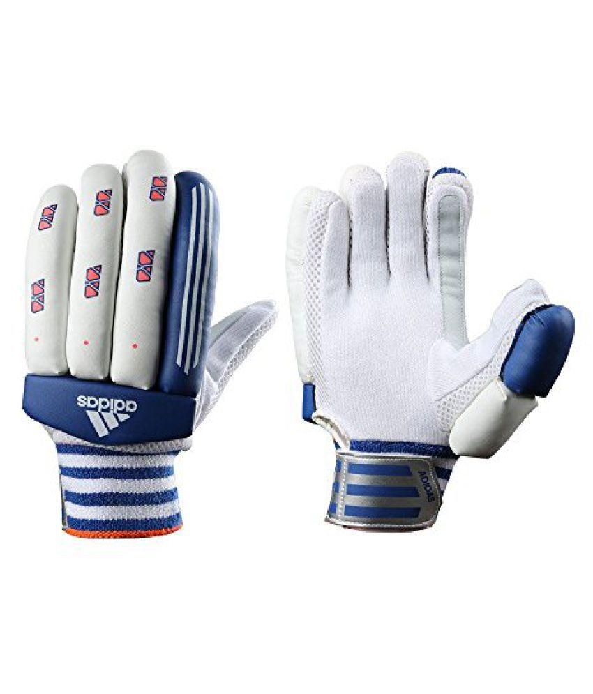 adidas Match 16 Ball Gloves, Medium (White)