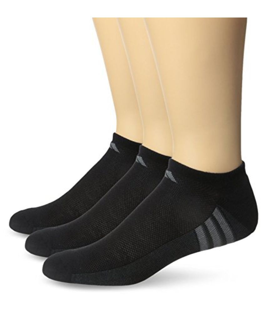 adidas Men's Superlite No Show Socks (3-Pack)