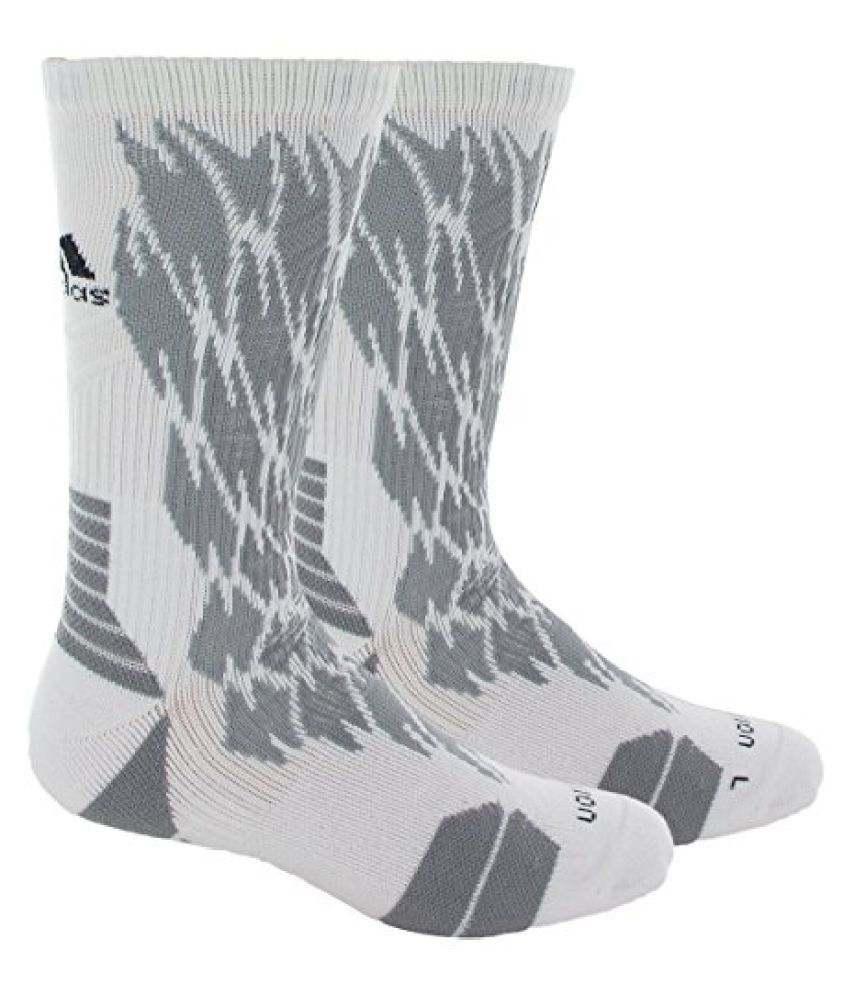 adidas Unisex Traxion Impact Basketball Football Crew Sock