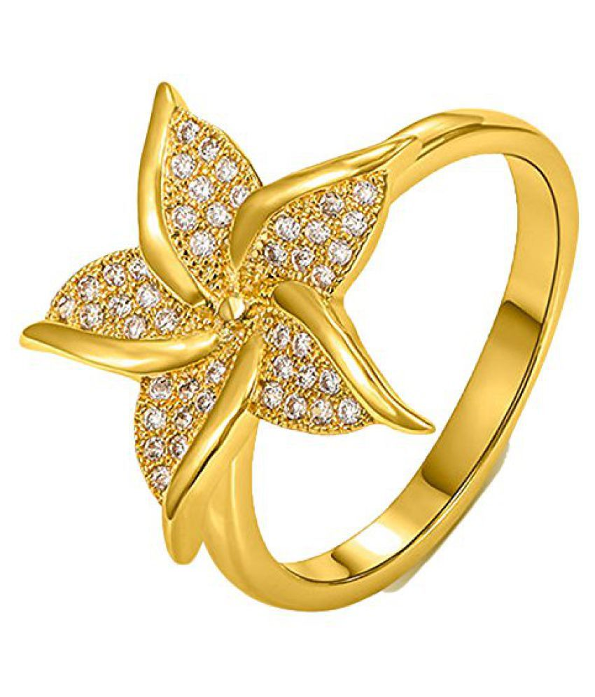Kaizer Jewelry Gold Plated Ring for Women