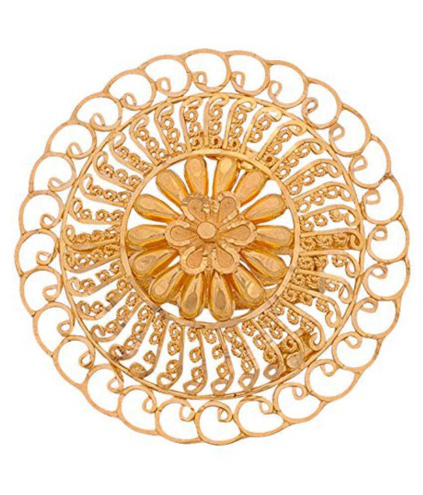 Senco Gold 22k Yellow Gold Ring: Buy Senco Gold 22k Yellow Gold ...