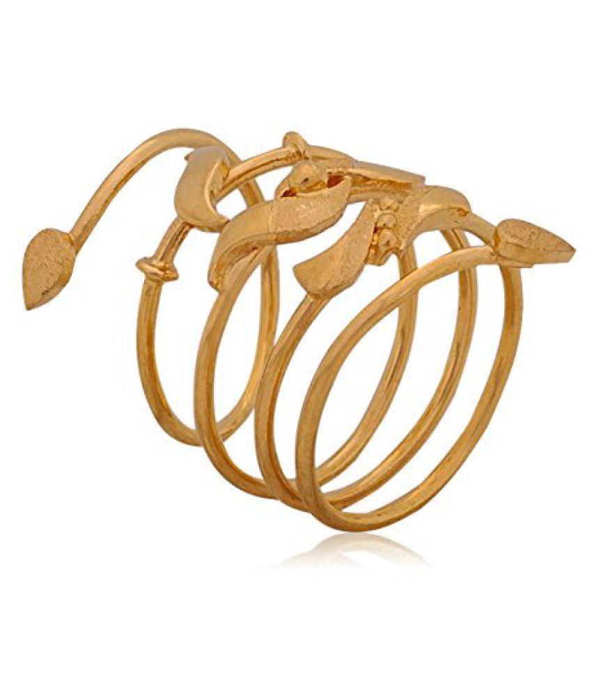 Senco Gold Aura Collection 22k Yellow Gold Ring