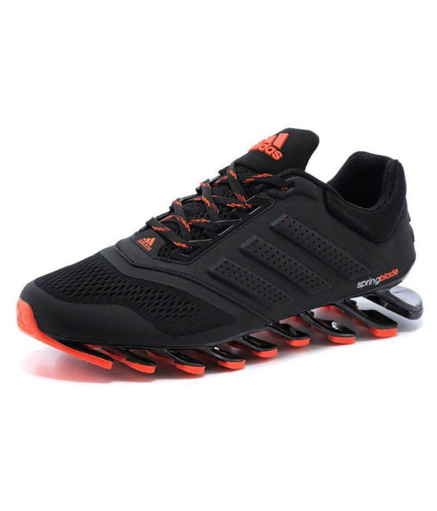 reputable site 02e20 05b70 Adidas Springblade Drive M2 Running Shoes Black